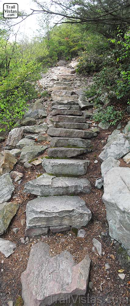 Thousand steps trail trail vistastrail vistas