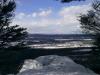 Hawk Rock Winter Snow