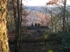 Table Rock Vista, Autumn Hikers